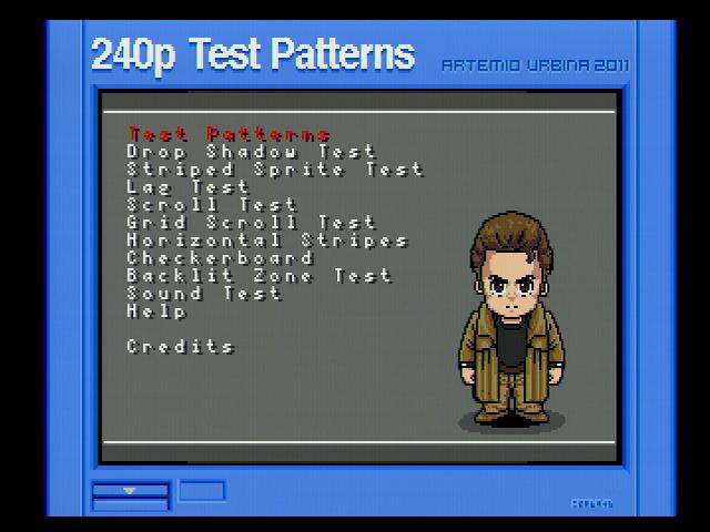 240p test title