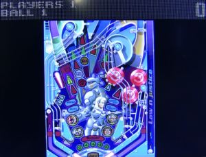 Pinball Illusions in interlace on the XRGB Mini