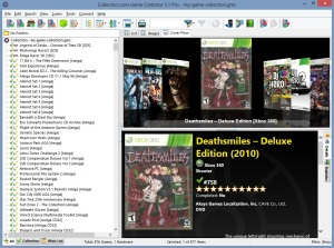 Browsing games in cover-flow mode. Click the picture for a bigger view.