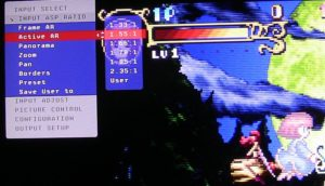 The units aspect ratio and picture controls are extensive.