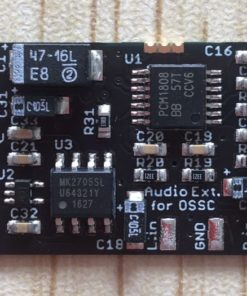 OSSC Audio Upgrade Board (Reduced to clear)