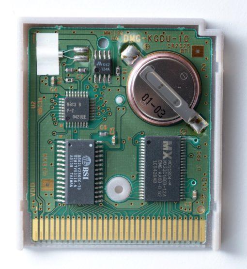 Nintendo Gameboy Game Cartridge Battery Replacement
