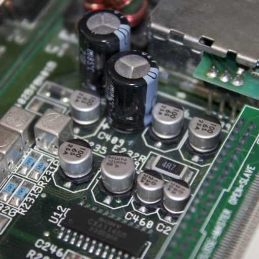 Amiga A1200 Capacitor Replacement Service