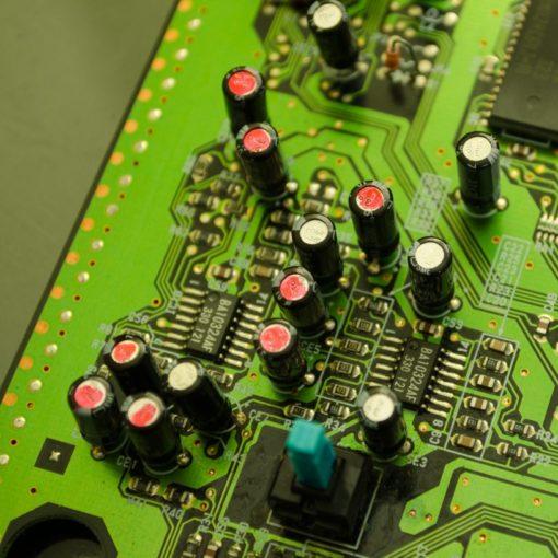 Sega Mega-CD Capacitor Replacement Service