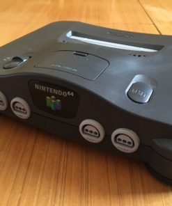 Nintendo 64 Console - HDMI upgraded (Black)