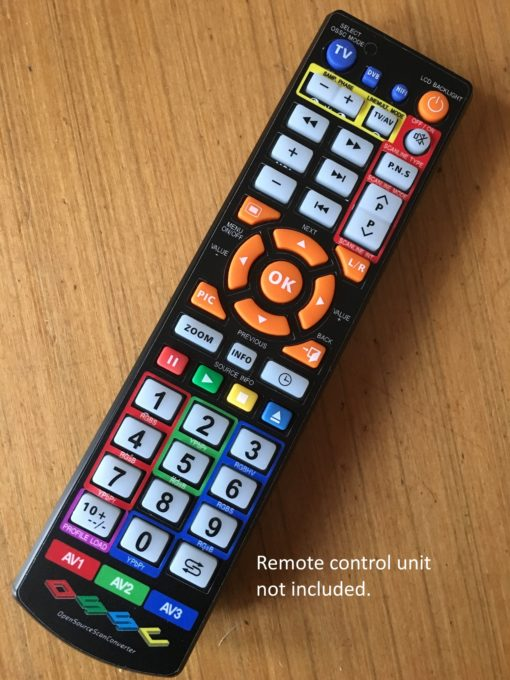 Open Source Scan Converter Remote Control Overlay