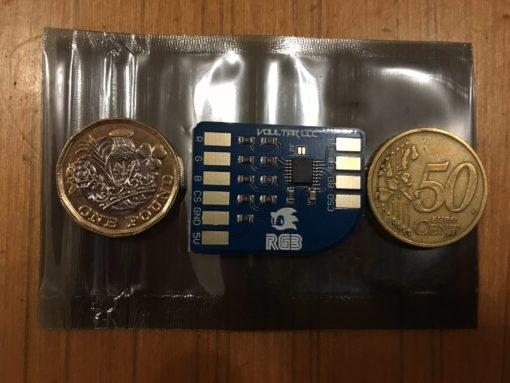 Sega Megadrive/Genesis RGB Bypass amp (revision 2)