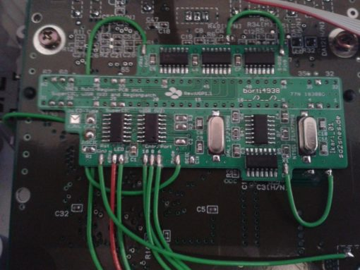 Nintendo SNES / Super Famicom switchless region free mod