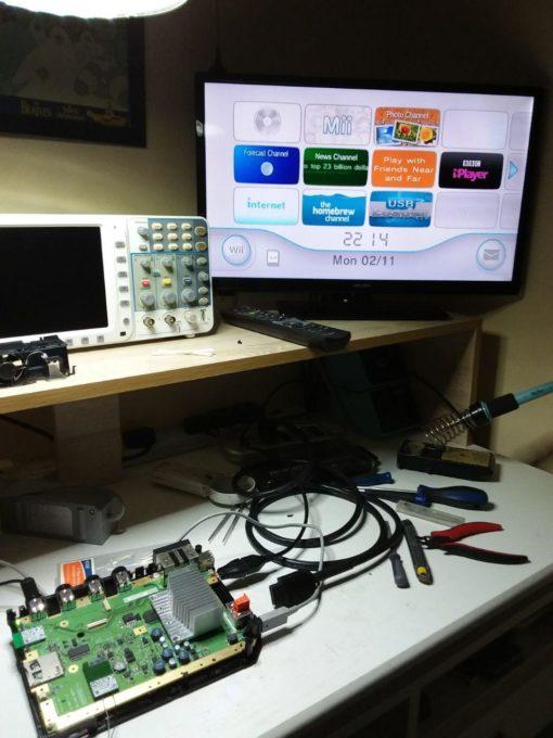 Wiidual HDMI and RGB mod kit fitting service